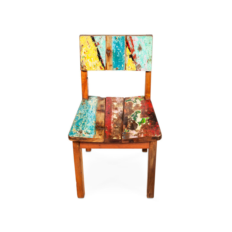 Boat timber dining chair