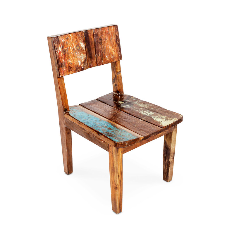 dining chairs recycled timber
