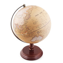 World Globe Vintage Look