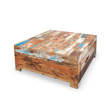 Recycled Boat Timber Coffee Table