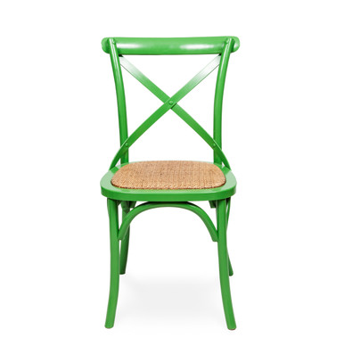 Crossback Chair Green