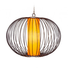Moroccan Pendant Light Shade Orange 60cm