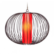 Moroccan Pendant Light Shade Red 40cm