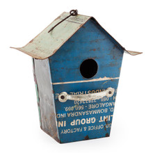 Recycled Tin Bird House