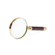 Magnifying Glass Leather