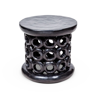 African Side Table Lamp Table