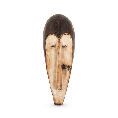 African Carved Timber Mask 2