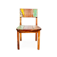 dining chair boat timber