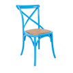 Crossback Chair Blue angle