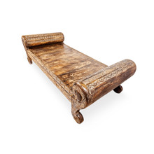 Hand Carved Outdoor Day Bed