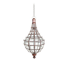 Moroccan Glass Pendant Light 75cm