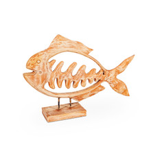 wooden fish