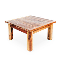 Recycled Fishing Boat Timber Coffee Table