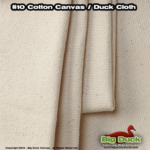 "Discount Artist Canvas Rolls #12/96"" Unprimed Painting Cotton Duck"