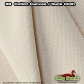 "#8/60"" Cotton Canvas Fabric / Duck Cloth (18oz) - NATURAL"