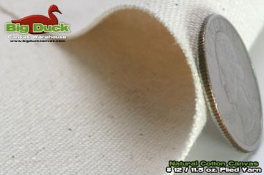 "#12/72"" Cotton Canvas Fabric / Duck Cloth"