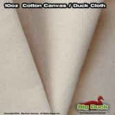 """Natural 10oz/60"""" Cotton Duck Unprimed Artist Canvas Rolls Wholesale"""