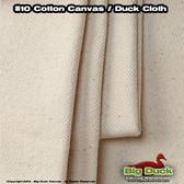 "#10/72"" Cotton Canvas Fabric / Duck Cloth (15oz) - NATURAL"