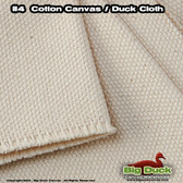 #4 Cotton Canvas Fabric / Duck Cloth (24oz) - NATURAL Military Specs CCC-C-419G