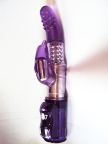 Wild Orgasm Heavy Duty Rabbit Vibrator with Dolphin Clitoral Stimulator