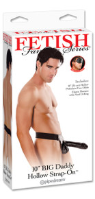 "Big Daddy Hollow 10"" Strap-on"