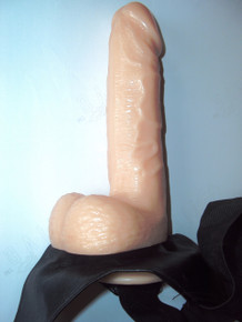 Black Mamba - The Original Realistic Strap-On Dildo with Suction Cup