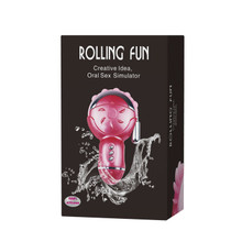 Rolling Fun - Oral Sex Simulator and Vibrator
