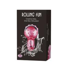 Rolling Fun - Oral Sex Simulator and Vibrator