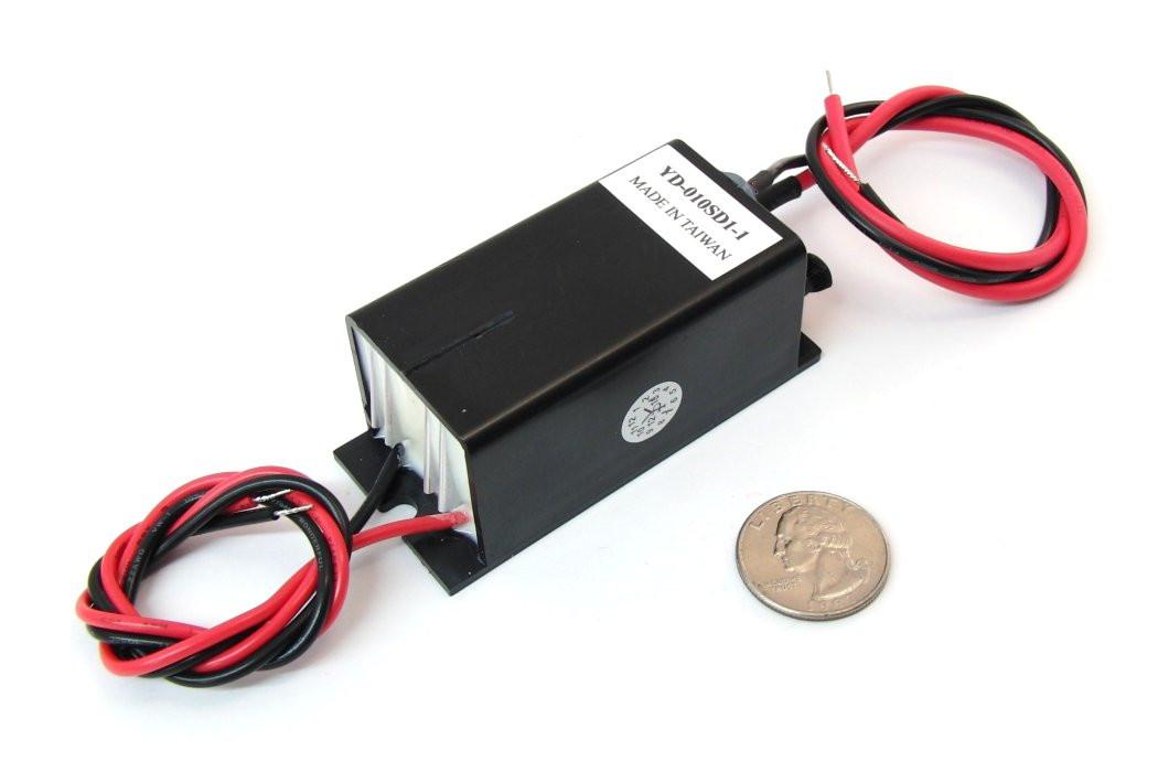 Negative Ion Generator 12vdc Input 20kv Output Information Unlimited