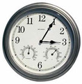 Wall Clock Hidden Camera with Thermometer & Hygrometer