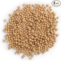 Frontier Co-op Organic Yellow Mustard Seed, Whole, 1 Pound Bulk Bag (Pack of 2