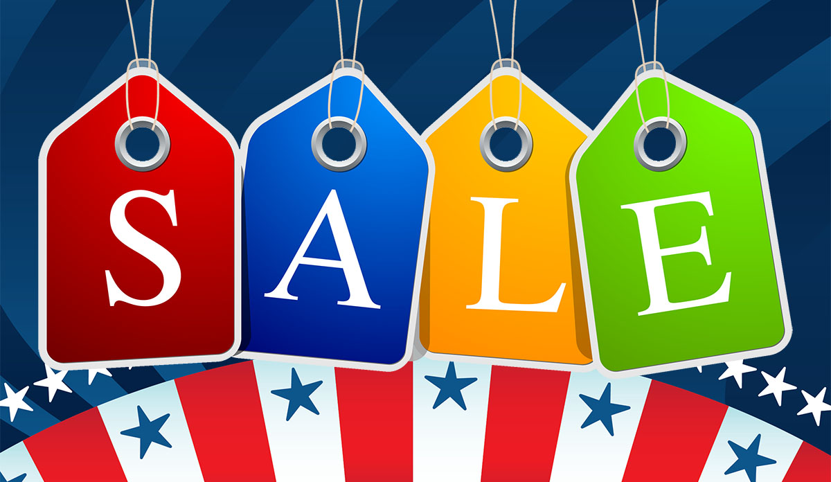 Clearance Sale - Stars & Stripes Products
