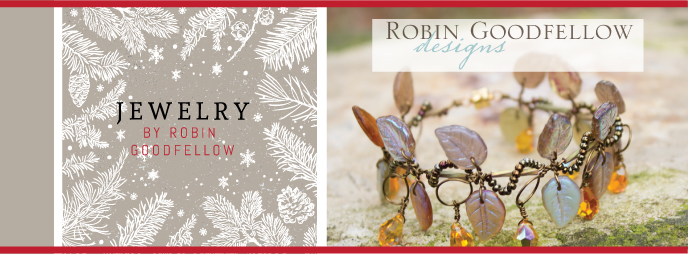 Robin Goodfellow Designs, Handcrafted Jewelry for Her, necklaces, earrings and more
