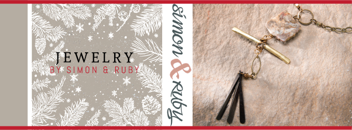 Handcrafted Jewelry by Simon & Ruby, gift ideas for special occasions