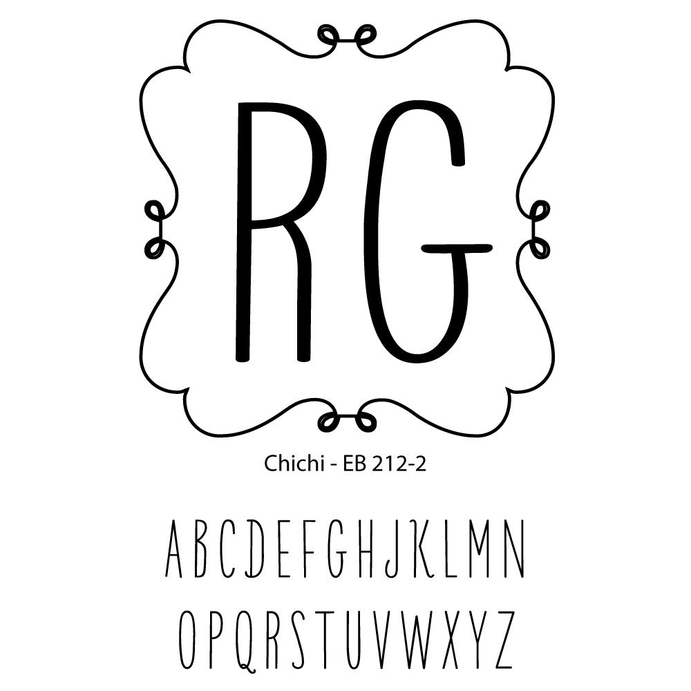 Double Letter Monogram-chichi