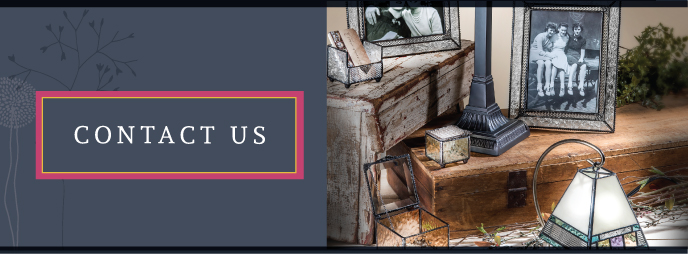Contact Uncharted Visions with questions about our quality glass art, jewelry, handbags and more!