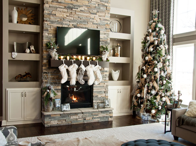 Soft Modern Style: Home Decorating for the Holidays - Uncharted ...