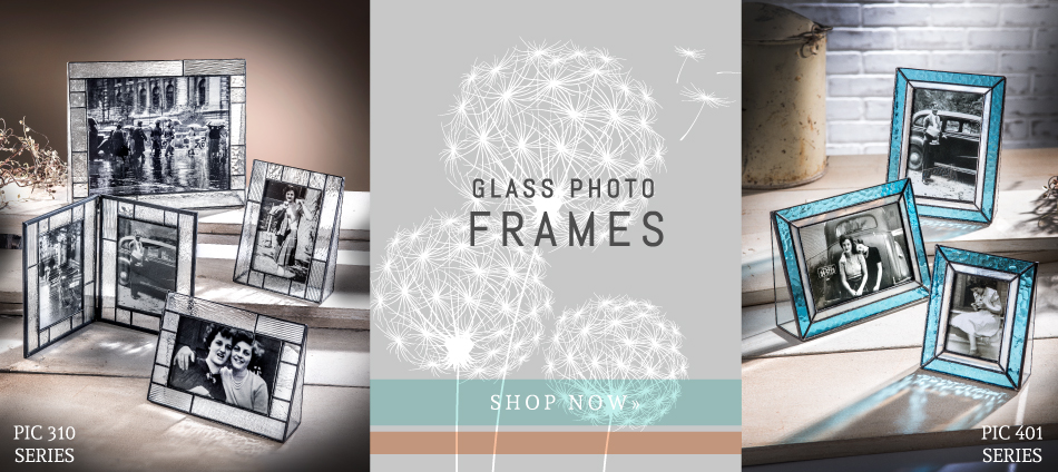 Glass photo frames perfect for any occasion, personalized gifts!