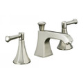 "Two Handle Widespread Lavatory Faucet  Kohler Two Handle Widespread Lavatory Faucet Memoirs Classic Collection Memoirs Classic Widespread Lavatory Faucet 5"" Spout Reach 1-7/8"" Spout Height (Base to Outlet) Aerated Flow Classic Lever Handles Flexible Connections Pop-up Drain with 1-1/4"" tailpiece For 8"" to 16"" Centers Flow Rate: 1.5 gpm (5.7 L/min) @ 60 psi Memoirs faucets with Classic design have a rich, fluted style that brings pure sophistication to the room. Handle and finish options offer tailored looks for your decor."