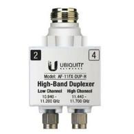airFiberX 11GHz, High-Band Duplexer