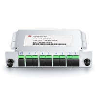 PLC Fiber Splitter, Mini Plug-in Type fits Fiber Optic Outdoor Terminal Distribution Box FOOTDBOX
