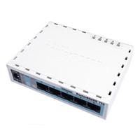 MIKROTIK SOHO ROUTER AR7240 CPU 32MB 5 Lan lvl4 OS Case Incl