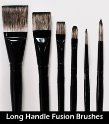 Fusion Brushes - Long Handle