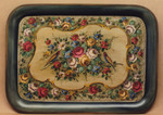 P1029 Tapestry Floral Large Tray $7.95