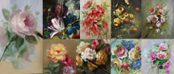 S104 Art of Flowers Online Class