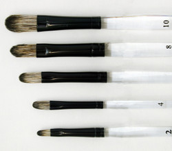 Fusion Filbert 5  Brush Set