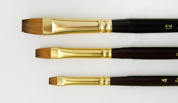 Synthetic Chisel Blender Brushes