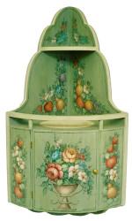 P2026 Soft Floral Corner Cabinet $8.95