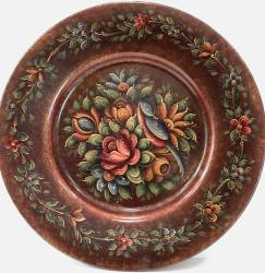 P2028 Victorian Metallic Floral $6.95