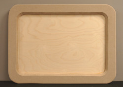 DCC #  4 Rectangular Tray $28.00